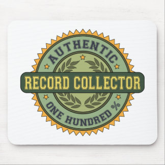 Colector de registro auténtico tapete de ratón