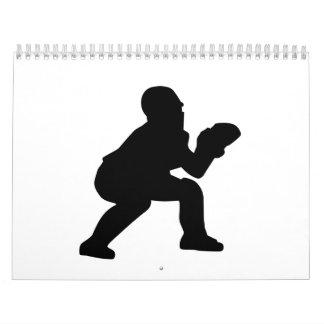 Colector del béisbol calendario