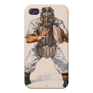 Colector del béisbol iPhone 4 carcasa
