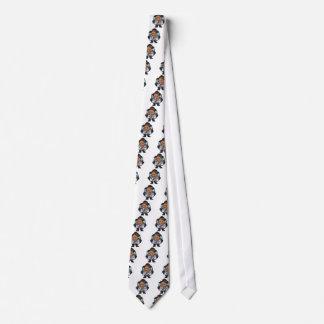 colector del béisbol que se agacha corbata personalizada