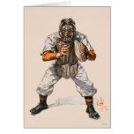 Colector del béisbol tarjeton
