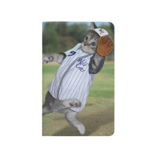 ¡Colector del gato en el campo abierto! Cuadernos Grapados