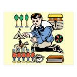 Colector del juguete postales