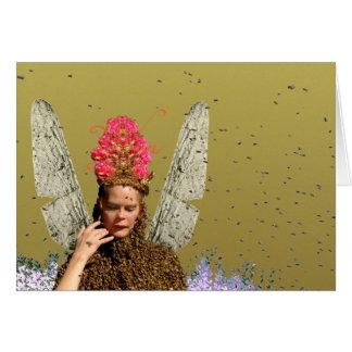 Colector del polen felicitacion