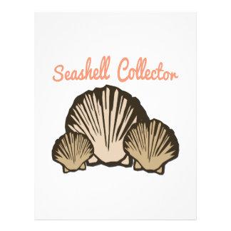 Colector del Seashell Plantillas De Membrete