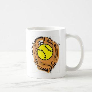 Colector del softball tazas de café