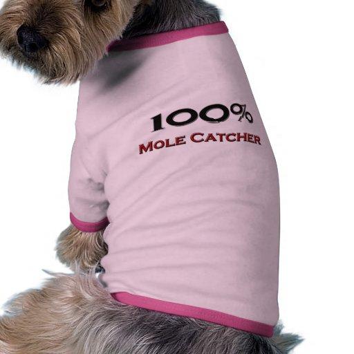 Colector del topo del 100 por ciento camisa de mascota