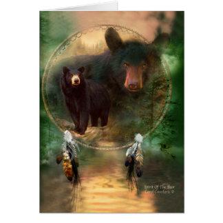 Colector ideal - alcohol del oso ArtCard Tarjeta De Felicitación