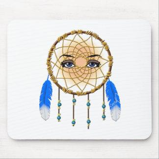Colector ideal de Kokopelli del nativo americano f Alfombrilla De Raton