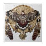 Colector ideal del búho teja  ceramica