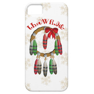 Colector ideal del navidad cherokee iPhone 5 carcasas