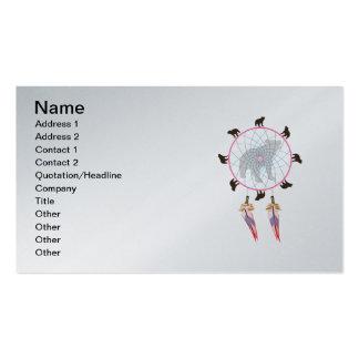 Colector ideal del oso tarjeta personal