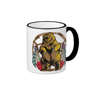 Colector ideal del oso taza a dos colores