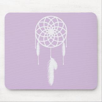 Colector ideal púrpura en colores pastel tapetes de ratón