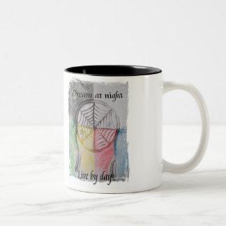 Colector ideal taza dos tonos