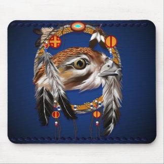 Colector Mousepad del sueño de la cara del halcón