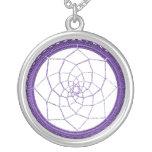 Colector púrpura del sueño de nativo americano colgante personalizado