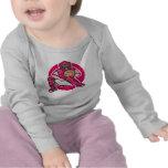 Colector rosado camisetas