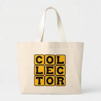 Colector, sello de la moneda o de otra manera bolsa
