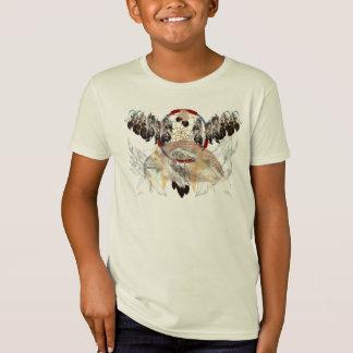 Colector y plumas y camisetas ideales de la cara