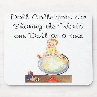Colectores de la muñeca que comparten el cojín de  alfombrillas de raton