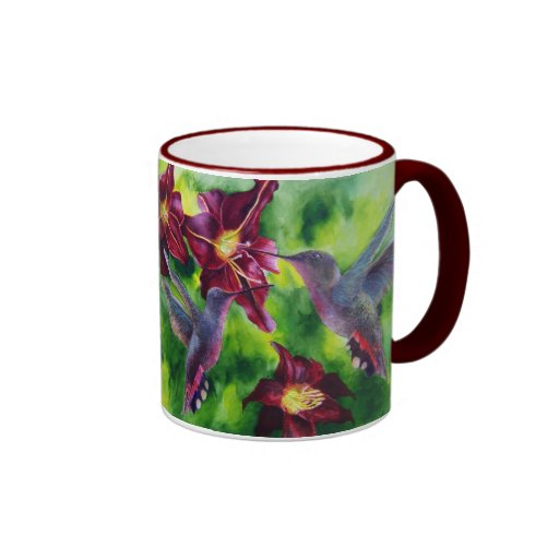 Colectores del néctar taza de café