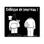Colega de Verdugo (Francois Ville y Gdb Gdblog) Tarjeta Postal