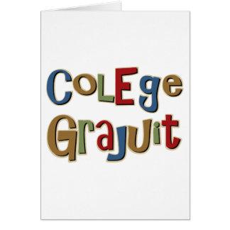 Colege Grajuit Card