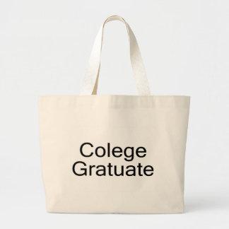 Colege Gratuate (College Graduate) Tote Bag