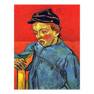 Colegial de Vincent van Gogh Tarjetón