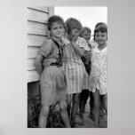 Colegialas en la Gran Depresión, los años 30 Posters