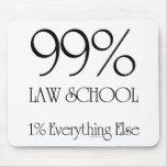 Colegio de abogados del 99% alfombrillas de ratones