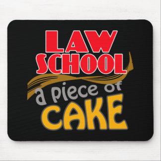 Colegio de abogados - pedazo de torta alfombrillas de ratones