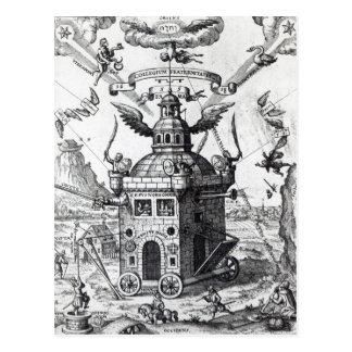 Colegio Fama Fraternitatis del Frontispiece ' Tarjetas Postales