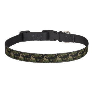 Coleira 3 sizes camouflaged pet collar
