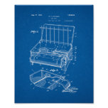 Coleman Camp Stove Patent - Blueprint Posters