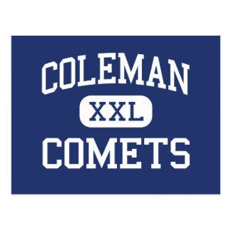 Coleman - cometas - High School secundaria - Postal