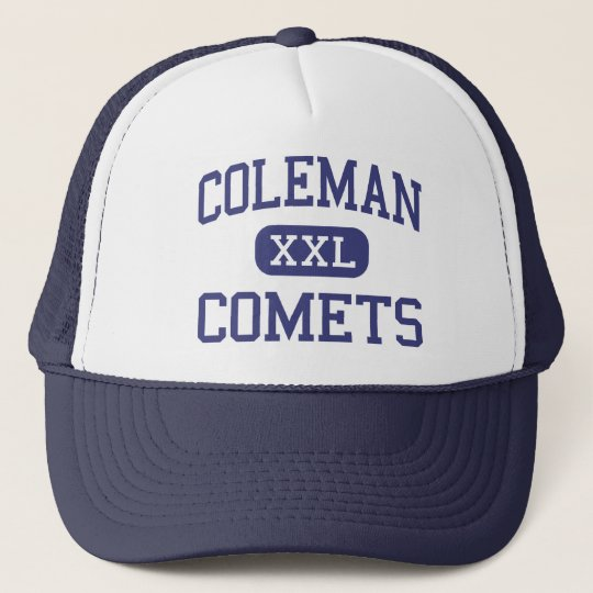 Coleman Comets Middle Coleman Michigan Trucker Hat