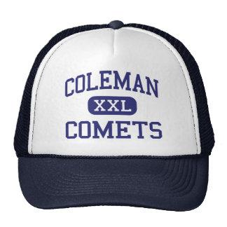 Coleman Comets Middle Coleman Michigan Trucker Hat