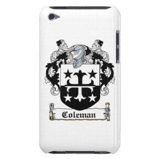 Coleman Family Crest Barely There iPod Cases
