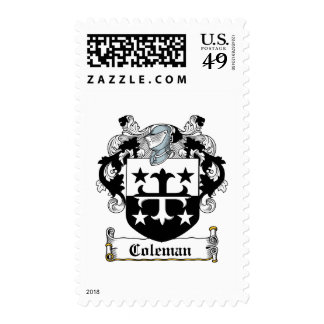 Coleman Family Crest Stamps