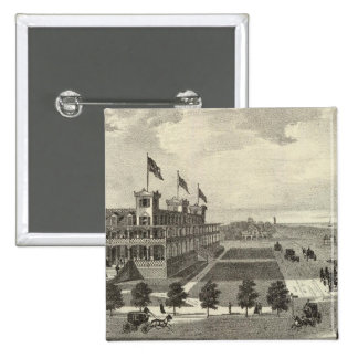 Coleman House, Asbury Park, NJ Pinback Button