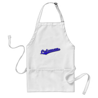 Coleman in Blue Adult Apron