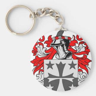 Coleman (Irish) Coat of Arms Basic Round Button Keychain