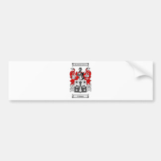 Coleman (Irish) Coat of Arms Bumper Sticker