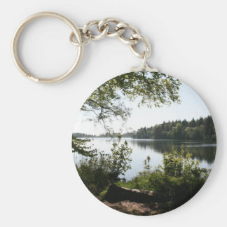 Colemere Country Park Llangollen Canal Keychain