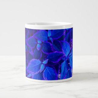 Coleo colorized azul de la planta taza grande