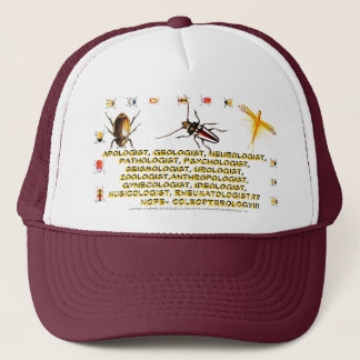 """Coleopterology"" Trucker Hat"