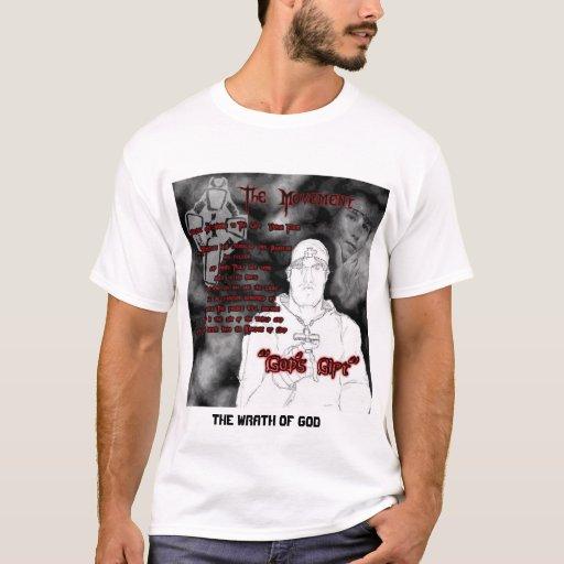 Cólera de Jason Richards de la camiseta de dios