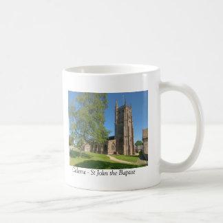 Colerne St John the Baptist Basic White Mug